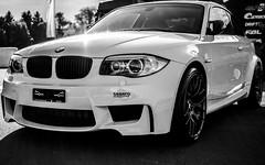 BMW 1M Wheels fest 2012 (D7000 + 35mm f1.8) (LocZ) Tags: sun white black art sport 35mm photography photo nikon automobile raw suisse wheels bmw f18 fest circuit 1m drift lignires d7000 loicz