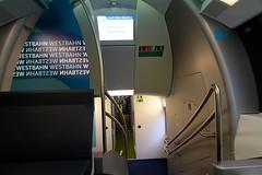 Westbahn (austrianpsycho) Tags: train kiss eisenbahn railway zug treppe 4010 gelnder stadler westbahn stadlerrail stadlerkiss