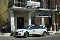 Police car (Paranoid from suffolk) Tags: hellas police greece policecar local zante 2012 zakinthos katastari citroenc4