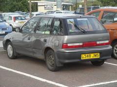 1994 Suzuki Swift 1.3 GLX Auto (GoldScotland71) Tags: auto swift suzuki 1994 13 1990s glx l348jms