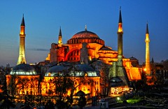 Hagia Sophia, I S T A N B U L (yonca60) Tags: night turkey landscape nightshot minaret istanbul mosque cami hagiasophia ayasofya agiasophia thegalaxy panoramafotogrfico nikond5000 theoriginalgoldseal mygearandme mygearandmepremium mygearandmebronze mygearandmesilver mygearandmegold flickrstruereflection2 flickrstruereflectionlevel1 yoncaevren rememberthatmomentlevel4 rememberthatmomentlevel1 rememberthatmomentlevel2 rememberthatmomentlevel3 me2youphotographylevel2 me2youphotographylevel1 hagiasophiawithnightview