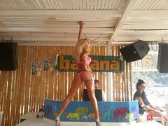 Banana beach bar Skiathos Greece summer 2012 (banana beach bar skiathos) Tags: party summer sun hot sexy beach bar club fun hotel dance crazy banana greece event spor skiathos 2012 kalokairi xoros trela  paralies xamos   flickrandroidapp:filter=none