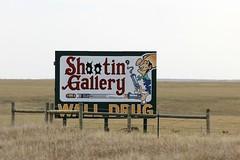 Wall Drug Billboard (the_mel) Tags: wall southdakota highway cowboy gun billboard advertisement drug 90 i90 walldrug