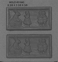 31840 (Chocolate Concepts) Tags: holiday rabbit bunny bunnies bar easter happy chocolate rabbits mold