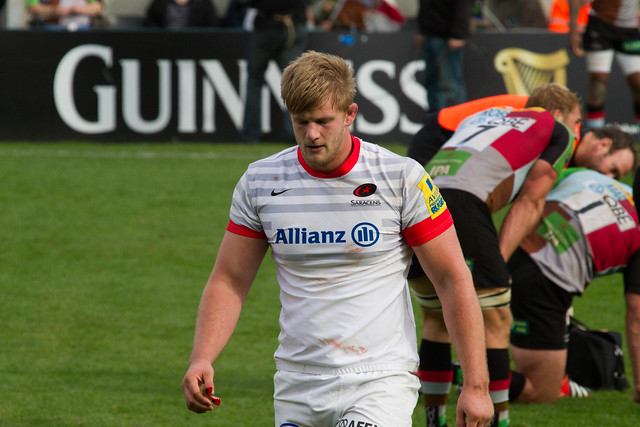 George Kruis off for an early batch