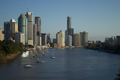 Brisbane (lgberriman) morning canon river point landscape eos rebel australia brisbane kangaroo queensland 650d t4i