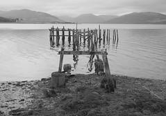 Port Bannatyne Pier (Hugh Spicer / UIsdean Spicer) Tags: uk autumn scotland october 2012 bute firthofclyde isleofbute