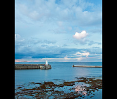 Across to Farne Isles (Craig Williams Photography) Tags: sunset sea canon landscape seaside harbour northumberland northeast seahouses craigwilliams canon50d craigwilliamsgallery