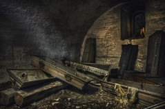 The black figure (andre govia.) Tags: urban man black never abandoned buildings photo shot photos decay ghost creepy explore stop urbanexploration figure ghosts coffin exploration derelict crypt decayed ue andregovia