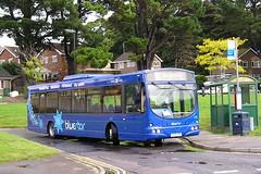 Bluestar HF54HFR (Solent Omnibus Club) Tags: buses volvo wright southampton bluestar goahead wiltsdorset townhillpark britishbuses solentomnibusclub hf54hfr