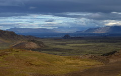 Fjalli eina (h) Tags: autumn sky fall nature clouds landscape iceland reykjavik esja september wilderness barren haust 2012 skarsheii akrafjall reykjanesskagi sveifluhls fjallieina