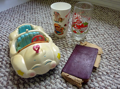 Clermont Community Yard Sale Finds (sciencensorcery) Tags: 80s antiques carebears eighties strawberryshortcake