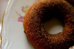 Baked Pumpkin Donuts! (oh it's amanda) Tags: food macro vegan pentax foodporn donuts veganbaking macroextensiontubes k20d pentaxsmcpfa50mmf14 pentaxk20d pentaxsmc50mm14fa