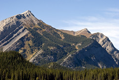 Mount Indefatigable, Kananaskis, Alberta (madlyinlovewithlife) Tags: mountain canada mountains kananaskis trail alberta rockymountains hikingtrail kananaskiscountry kcountry mountainpeak mtindefatigable indefatigable mountindefatigable