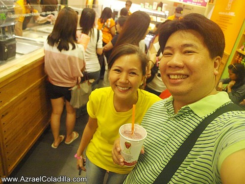 Jamba Juice store launch in SM City North Edsa