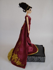 Mother Gothel Disney Villains Designer Collection Doll - Personal Photos - Deboxed - Full Left Side View (drj1828) Tags: doll personal photos limitededition disneystore 2012 tangled displaycase poseable uncovered deboxed mothergothel disneyvillainsdesignercollection