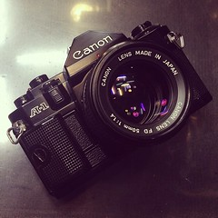 It tempts me sometimes. Canon A-1 with n by hicamera, on Flickr