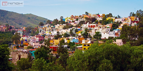The colorful city Guanajuato - Mexico
