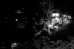 Resto le soir  Bormes. (jpto_55) Tags: nuit noiretblanc xe1 fuji fujifilm fujixf1855mmf284r bormeslesmimosas var france
