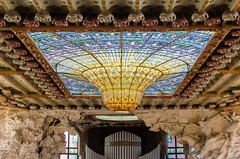 Palau de la Msica Catalana (campru) Tags: modernisme modernismo artnouveau modernstyle glasgowstyle jugendstil sezession domenechimontaner barcelona architektur