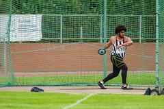 DSC_7597 (Adrian Royle) Tags: people field sport athletics jump jumping nikon track action stadium running run runners athletes sprint leap throw loughborough throwing loughboroughuniversity loughboroughsport