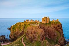 Scotland, Dunnottar Castle - Golden Ruins (Nomadic Vision Photography) Tags: aberdeen dunnottarcastle scotland travel expedia unitedkindom goldenlight ruins historical magical