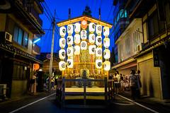 The season is coming #3 (Kyoto) (Marser) Tags: xt10 fuji raw lightroom japan kyoto festival lantern nightview people night