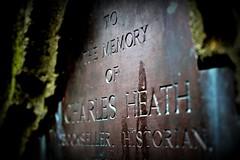 Charles Heath, Monmouth (gruntkitty) Tags: memorial memorium church churchyard charlesheath monmouth grave graveyard historyribbet