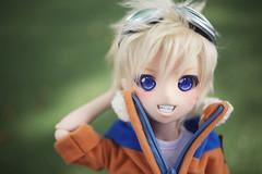 Young Naruto <3 (lightlybattered) Tags: naruto uzumaki mdd mini dollfie dream volks doll bjd vinyl anime boy