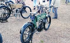 1903 Neckarsulmer Motorrado. Reg: ZZ 35-57 (bertie's world) Tags: sunbeam pioneer run 1979 epsomdowns motorcycles neckarsulmer motorrado reg zz3557 1903
