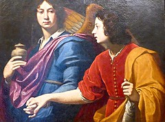 les anges (5) (canecrabe) Tags: ange tobie raphal archange lorenzolippi peinture wroclaw muse