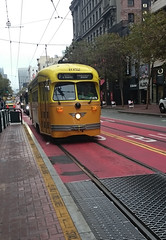 San Francisco PCC Trolley (Hawkeye2011) Tags: california usa 2016 sanfrancisco transport pcc trolley train railway