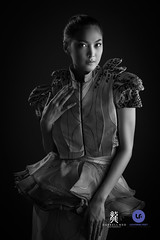 Wita Juwita (Darrell Neo) Tags: darrellneo studio fashion lookbook lasalle college jakarta bw portraiture portrait nikon