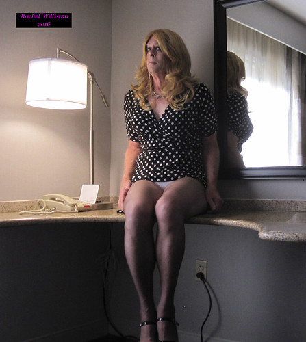 Here I am with my panties showing a bit! Do you mind?