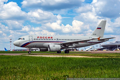 Moscow region, Vnukovo, Russia - July 02, 2016: (Andrey Khachatryan) Tags: 319 a319 aeroplane air airbus aircraft airline airplane airport arrival arriving aviation baggage civil cloudy departure engine flight forest grass green group industrie industry international jet jetliner journey landing luggage moscow passenger photo plane recreation rossiya runway russia russian sky spotting takeoff taxing terminal tourism travel trip vnukovo