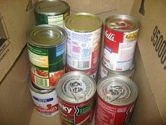 11.18.10 (2) (aspenpublicradio) Tags: canned vegetables food drive