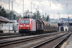 DB CARGO - VILLINGEN (Giovanni Grasso 71) Tags: db cargo br185 trxx ac locomotiva elettrica villingen nikon d700 giovanni grasso