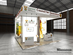 Geoscience_custom-stand_HOTT3D_Geological-Congress_10 (HOTT3D Exhibition Stands - Cape Town) Tags: idc2016 councilforgeoscience cticc dmr departmentmineralresources pavilion peninsula cutomexhibit bespoke exhibit design booth expodisplay timberbooth ducosprayed spraypainted bulkhead rigging ledsign timberfloor raisedplatform novilon conference confex delegates meetings reception informationkiosk lounge backlitgraphics fabricprinting tensionedfabricprinting ledscreens cnccutlogo diecutvinyl eventprofs sketchup vray photoshop capetown southafrica hott3d