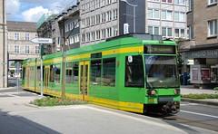 Mlheim an der Ruhr, Friedrich-Ebert-Strae 24.08.2010 (The STB) Tags: mlheim stadtmitte stadtwerkeoberhausen stoag tram tramway tranva strassenbahn strasenbahn ruhr duewag dwag
