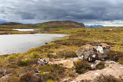 South towards Torridon (Noel Wyn Davies) Tags: mountains torridon laide aultbea melloncharles moorland clouds loch lochan heather rocks hills scotland highlands westerross