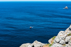 Cliff in the Costa da Morte, Galicia (basair) Tags: red galicia sea atlantic spain coastline landscape scenics nature atlanticocean wave water sky seascape outdoors europe watersedge tide summer vacations traveldestinations blue environment rock sunlight stone turquoise watersurface rockycoastline ocean cliff peninsula coast electriclight waterfront danger builtstructure colorimage day finisterre famousplace tower santiagodecompostela caminodesantiago pilgrimage iberianpeninsula cabodefinisterre costadamorte acoruna finisterrae capefinisterre