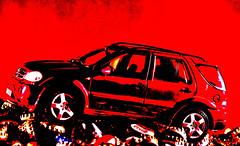 Mercedes M-Klasse mal anders (Gnter Hentschel) Tags: 118 mercedes mklasse mercedesmklasse rot modellauto modellcar modell fotomodell auto car suv deutschland germany germania alemania allemagne europa nrw nikon nikond5500 d5500 hentschel gnter flickr guenter indoor outdoor
