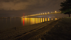 A night by the Humber (Scubastevephotos1) Tags: canon longexposure nightsky eastyorkshire humber clouds sky nightphotography humberbridge hull