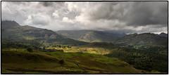20160821 (RenaldasUK) Tags: lakedistrict canon canon6d 247028 england panorama mountains clouds uk photoshop light sun shadows