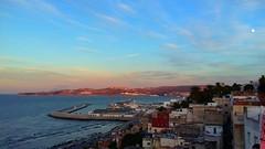 20160914_192231-01 (hafssa_13) Tags: tags tangier tanger morocco maroc sea sun seashore beautiful view spain espagne blue