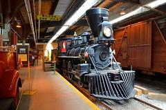 A pioneer steam engine (Michael Berry Railfan) Tags: winnipeg manitoba winnipegrailwaymuseum 440 baldwinlocomotiveworks steamengine countessofdufferin
