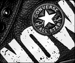 Converse. (CWhatPhotos) Tags: star allstars ox oxford all stars american converse baseball shoe boot white rubber sneakers design chuck taylor feet foot wear shoes closeup sole size 11 macro photographs photograph pics pictures pic picture image images foto fotos photography artistic cwhatphotos that have which with contain chucks sex pistols boots black leather boredom nowhere punk rock punks