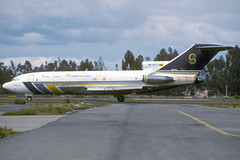 HK-1273-1-SKBO-24SEP1997 (Alpha Mike Aviation Photography) Tags: bogota colombia skbo bog lineas aereas suramericanas boeing 727 hk1273 las