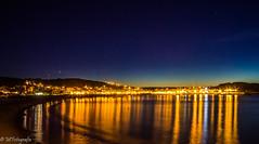 around the beach (MF-otografie) Tags: beach city lights night stars sea sand sundown sunset bluehour longexposure outdoor landscape