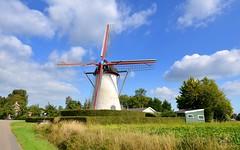 Zeeland / Dreischor / The Netherlands (eos65) Tags: zeeland landscape holland molen